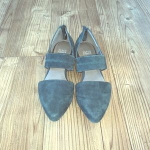 Eileen Fisher Kale Suede Flats Size 37